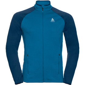 Odlo Proita Midlayer Doorlopende Rits Heren, directoire blue/estate blue